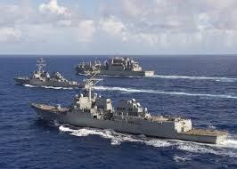 Het Chinese leger verdrijft oorlogsschip van de Amerikaanse marine uit de Zuid-Chinese Zee