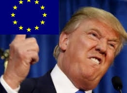 Europa is de 'slet' van Trump