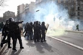 Politie en brandweer op de vuist in Frankrijk