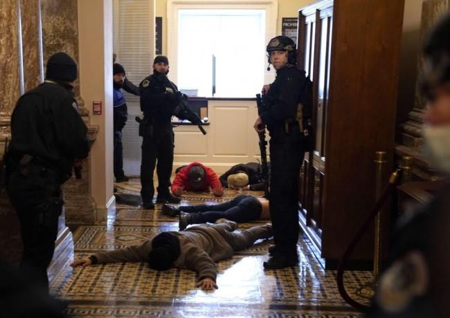 Chaos in Washington D.C.