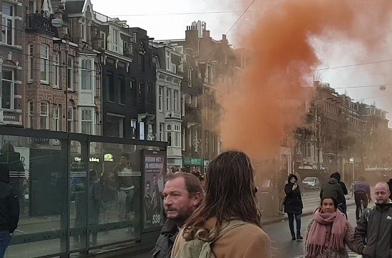 Verslag van 'Nederland in verzet' (17 januari 2021)