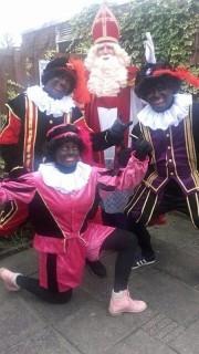 Sint en zwarte Piet om tour