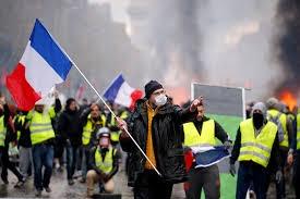 Gele Hesjes in Frankrijk gaan de 62e week op rij in