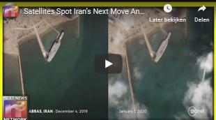 Satellieten zien de volgende zet van Iran en iedereen vraagt zich af of ze gek genoeg zijn om dit te doen