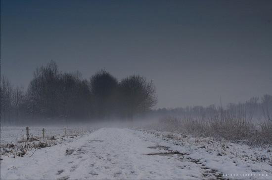 Dik pak sneeuw in Brabant en Limburg